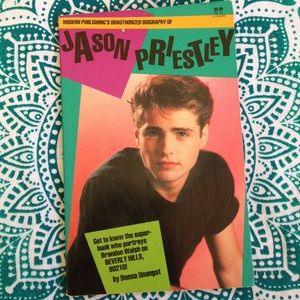 Jason Priestley Book for Beverly Hills 90210 Fans